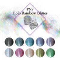 PNS Holo Rainbow Glitter